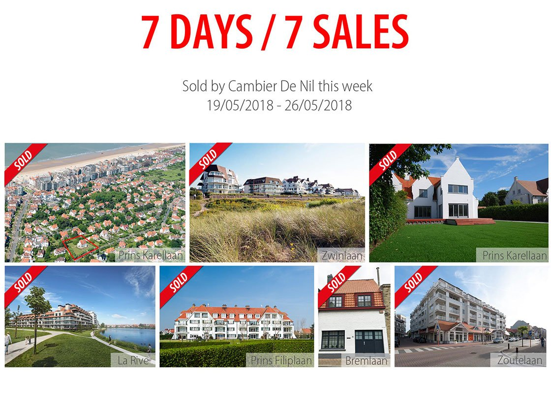 Cambier De Nul - 7 jours = 7 ventes