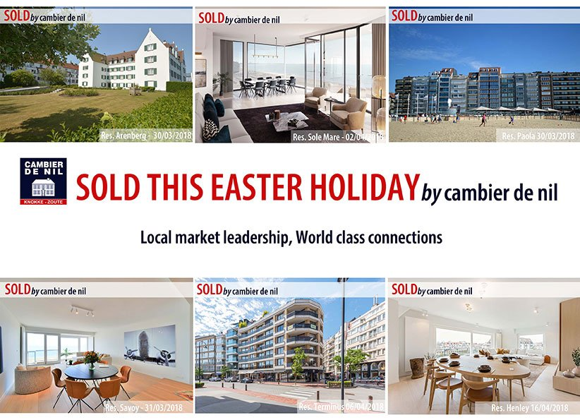 Cambier De Nul - Sold this easter holiday